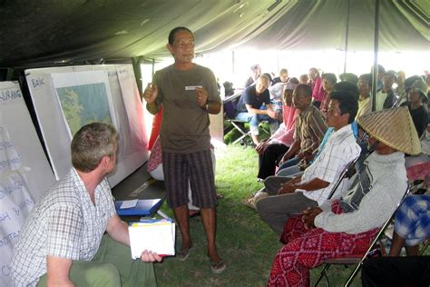 Workshop Lombok tanjung ringitt east lombok community planning workshop jtp