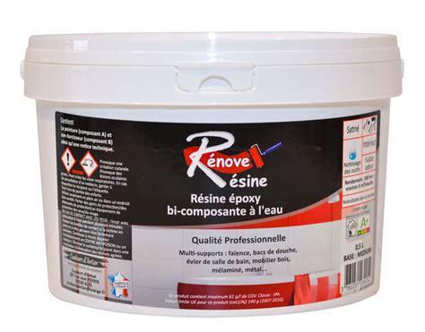 Peinture Resine Baignoire 0 by R 233 Sine Color 233 E Multisupport Renove Resine 0 5l Id 233 Ale