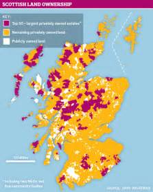 scotland has the most inequitable land ownership in the