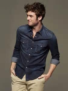 men s denim shirt urban fashion 2016 world trends fashion
