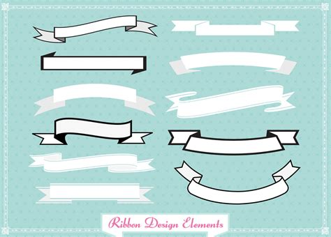 printable ribbon banner template ribbon banner template clipart best