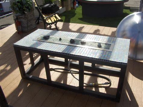 diy gas pit table outdoor gas fireplace portable pit custom fireplace