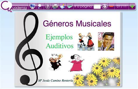 imagenes de estilos musicales g 233 neros musicales clase de m 250 sica 2 0