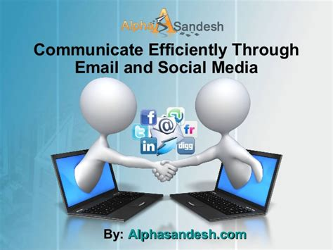 Find Through Email Communicate Efficiently Through Email And Social Media