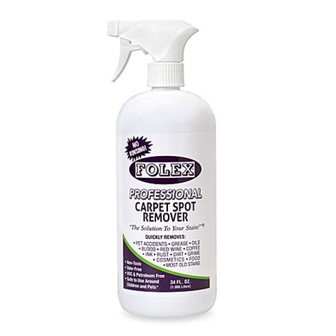 Water Based Upholstery Cleaner Buy Folex 174 Professional 34 Oz Carpet Spot Remover From