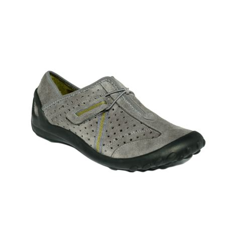 clarks athletic shoes clarks privo tequini athletic shoes in gray grey lyst