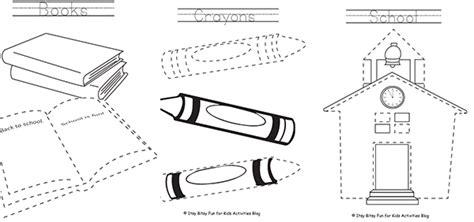 imagenes de utiles escolares en ingles para colorear 44 dibujos para colorear 161 vuelta al cole pequeocio