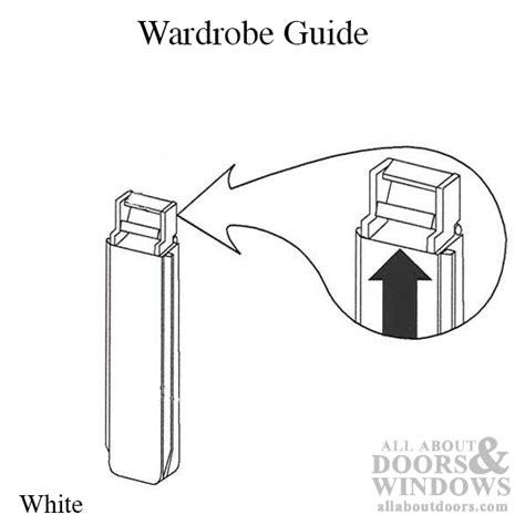 closet door wardrobe guide white