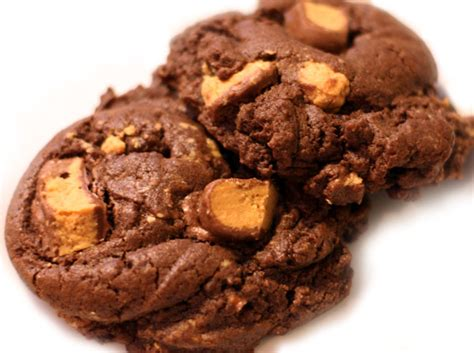 chocolate reese's peanut butter cup cookies   Table for Two®