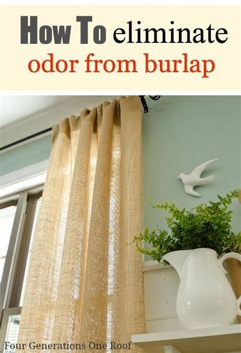 how to make curtains out of burlap how to eliminate burlap curtain odor the floor how to