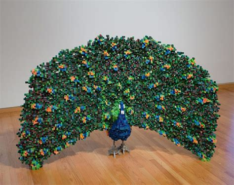 things made out of recycled materials shawn smith s pixel sculptures combine 8 bit world with