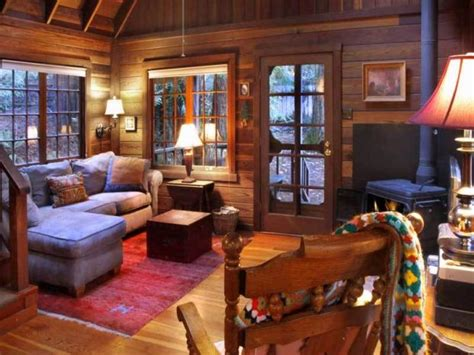 Mountainside House Plans by Romantic Redwood Cabin A Mountainside Retreat Cozy Homes