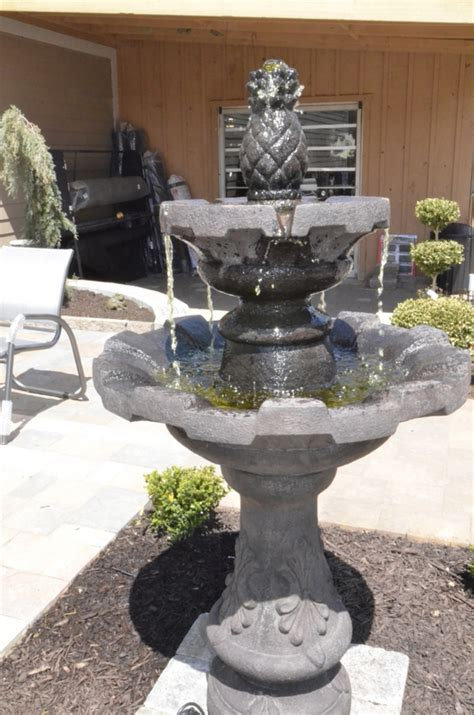 creekside gardens water gardens fountains concrete