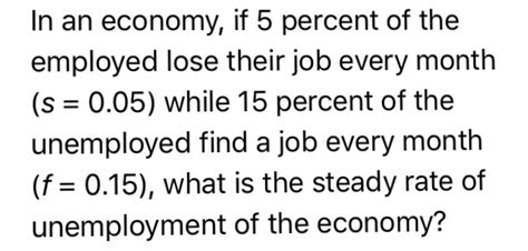now that 70 percent of job searches are conducted online and solved in an economy if 5 percent of the employed lose t