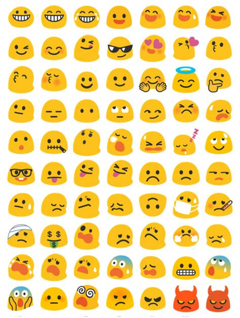how to get color emoji on android it s time to say goodbye to the blob emoji konbini nigeria