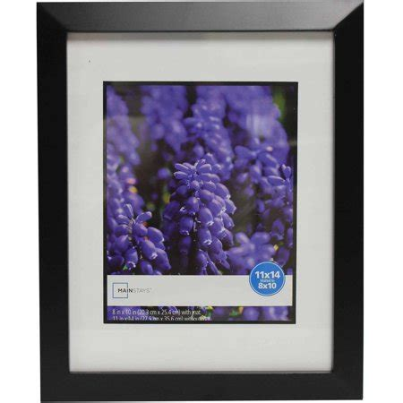 10 X 14 Picture Mat - mainstays wide picture frame 11x14 matted to 8x10