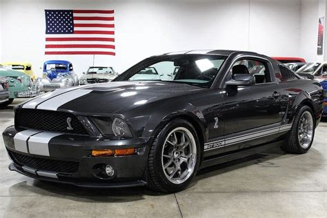 2008 ford mustang shelby gt500 gray 2008 ford mustang shelby gt500 for sale mcg marketplace