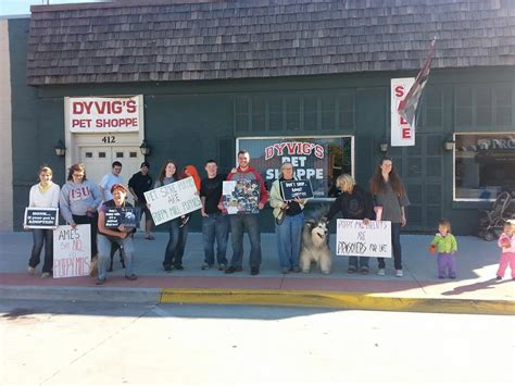 pet store protests across the united states bailing out