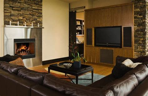 Same Room With Another by Be Able To Appreciate And View The Fireplace And