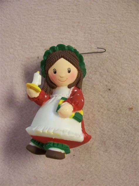 holly hobbie ornament vintage christmas in original box