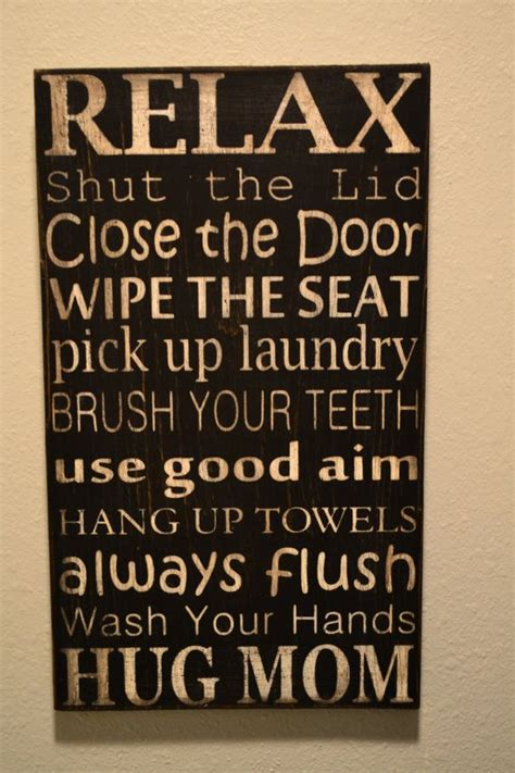 bathroom rules art bathroom rules subway art by babyshues on etsy 35 00