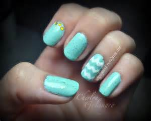 color nail designs mint nails with gold accents everything nail