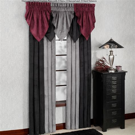 a touch of class curtains camden faux suede window treatment
