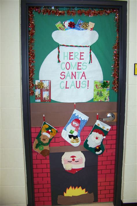 christmas doors at school lake benton news