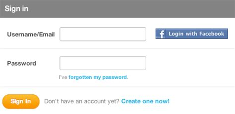 Landscape Forms Login Usability How Should Form Input Fields On A Landscape