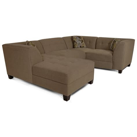 england furniture sectional england miller sectional sofa with 3 4 seats dunk