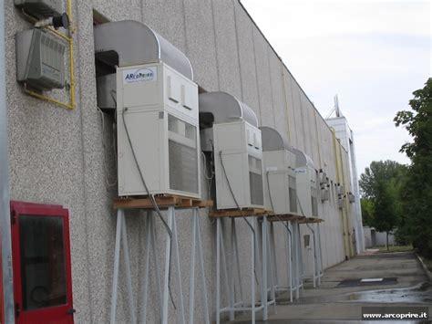 riscaldamento capannone condizionatori a pompa di calore per capannoni aziendali e