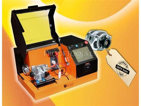 starter test bench alternator starter automatic test bench onyx prooftools