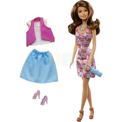 doll house fashion barbie fashion blitz teresa doll fashion gift set