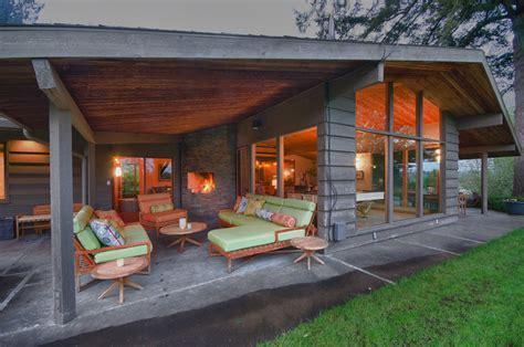outdoor covered patio outdoor covered patios exterior midcentury with concrete