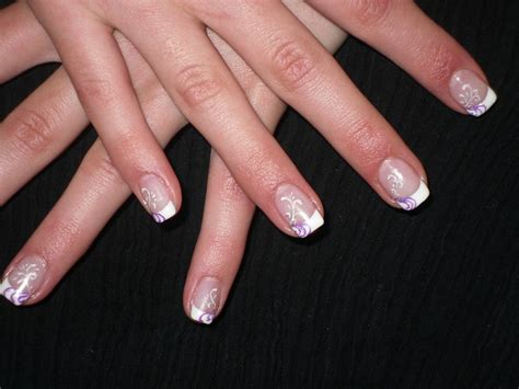 Motif Ongle En Gel by Nail Pose D Ongles En Gel Coordonn 233 Quot So Glam
