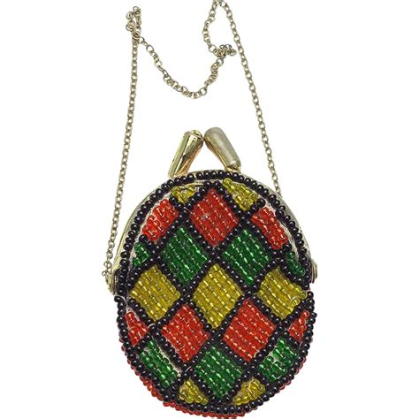 vintage beaded doll purse from vininghill on ruby