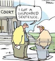 Suspendered Sentence suspended sentence criminal sentencing national pardon