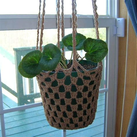 Plant Hanger Pattern - 25 best ideas about crochet plant hanger on
