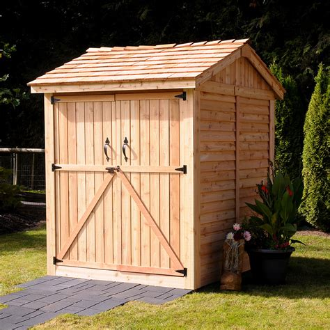 Shed Offers by Diy Shed Adds Storage Space To Our Blue Cottage