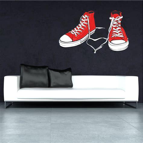 Sticker Shoes wallstickers folies shoe wall stickers