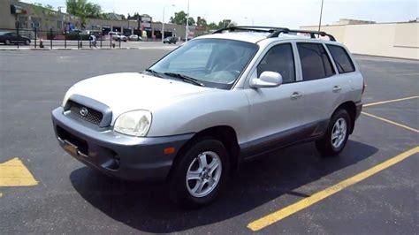 how cars run 2003 hyundai santa fe navigation system 2003 hyundai santa fe for sale chicago youtube