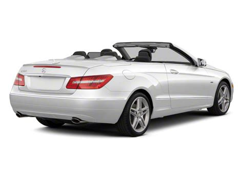 Mercedes E550 Price by 2012 Mercedes E Class Convertible 2d E550 Prices