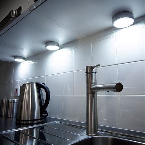 kitchen under cabinet led lighting mains gx53 recess surface mains under cabinet light
