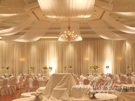 wedding ceiling draping draping wedding decor toronto rachel a clingen wedding