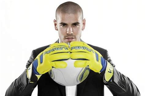 Adidas Valdes victor valdes signs boots gloves deal with penalty