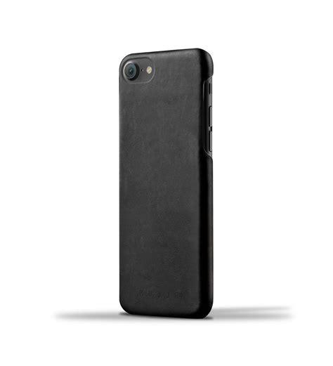 funda cuero iphone mujjo leather funda cuero iphone 8 7 6 negro