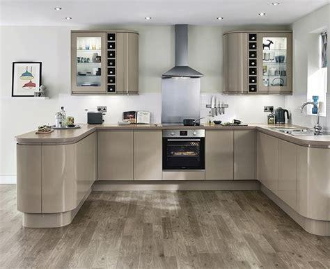 Clerkenwell Gloss Stone Kitchen   Contemporary Kitchens