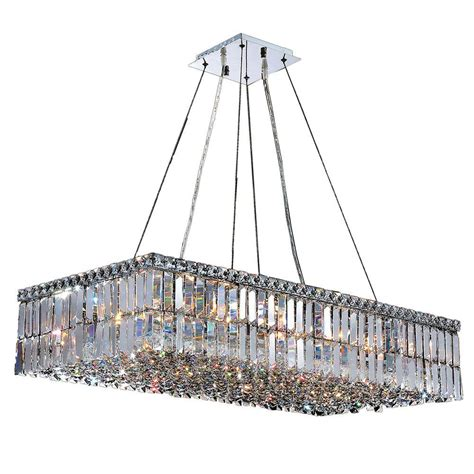 worldwide lighting cascade collection 16 light polished