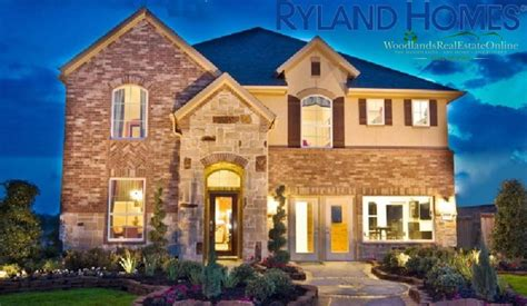 Ryland Homes Houston by Ryland Homes The Woodlands Real Estate