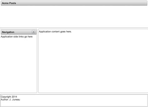 primefaces layout header josh s dev blog java java ee jython oracle and more